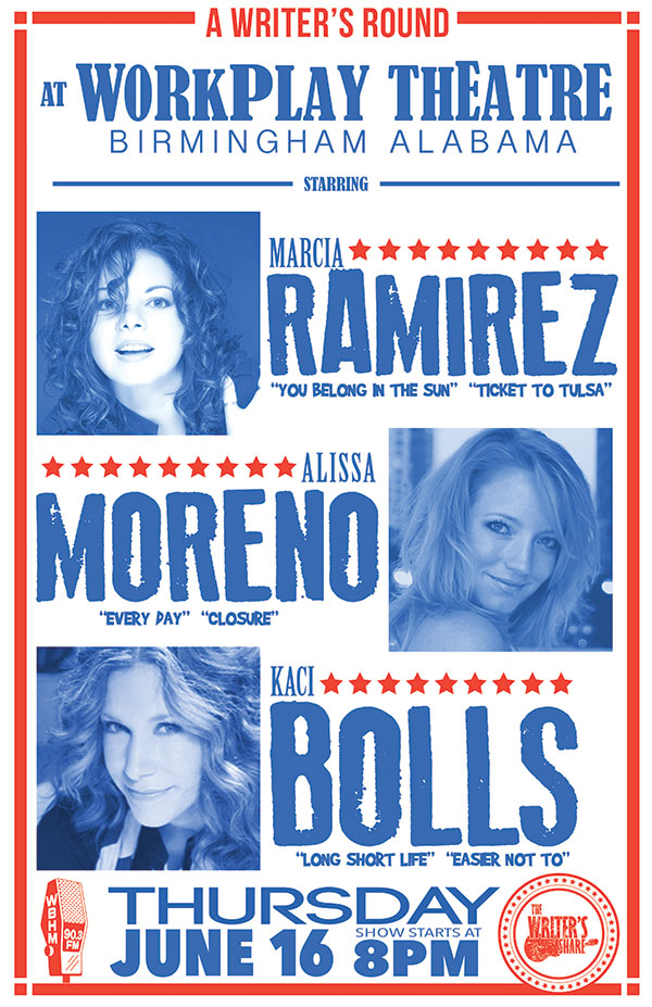 Marcia Ramirez, Alissa Moreno and Kaci Bolls