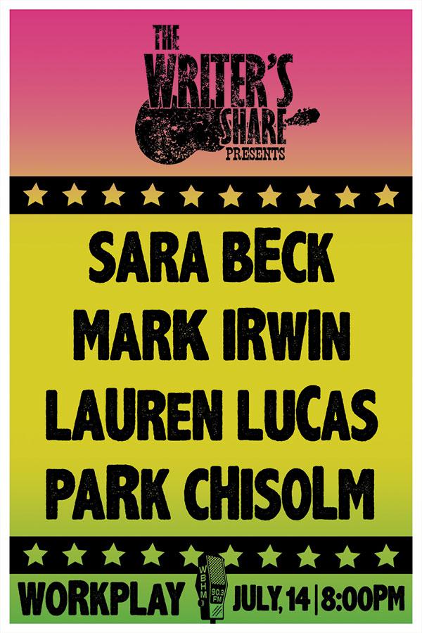 Sara Beck, Mark Irwin, Lauren Lucas and Park Chisolm