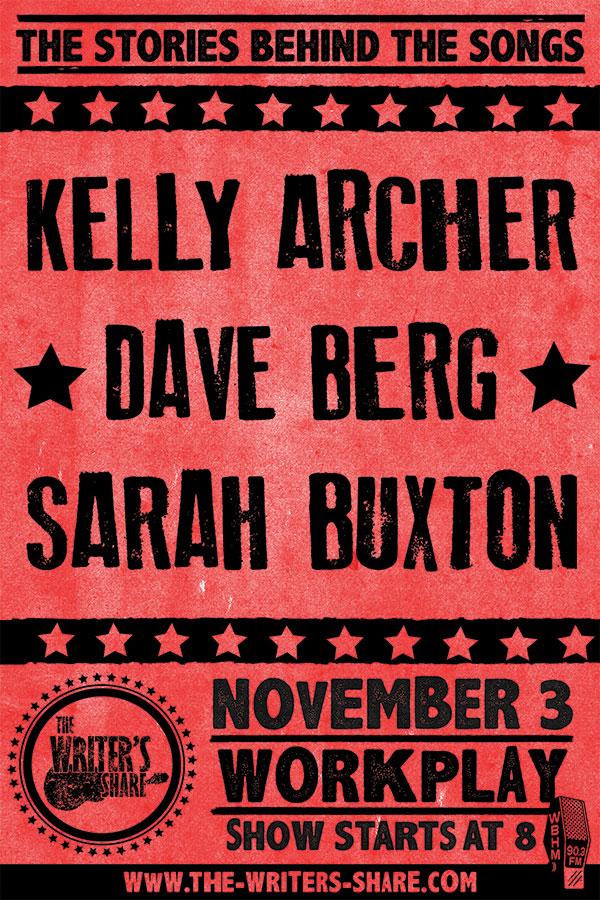 Kelly Archer, Dave Berg and Sarah Buxton