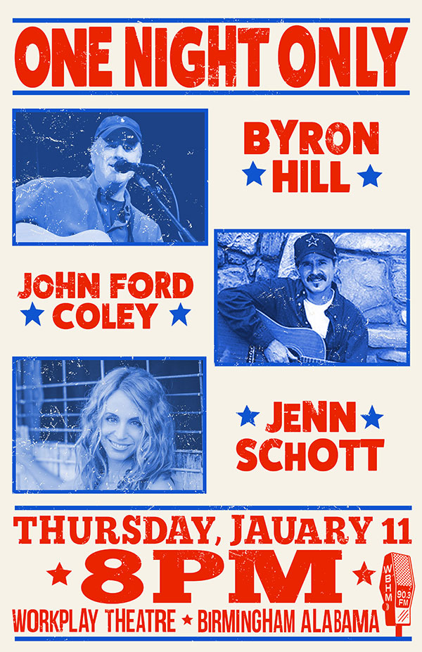 Byron Hill, John Ford Coley and Jenn Schott