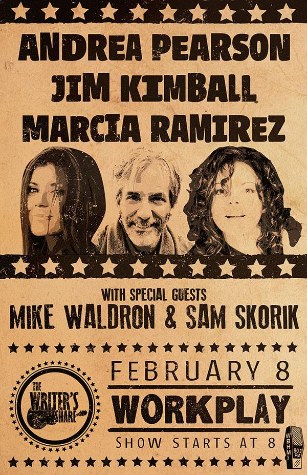 Andrea Pearson, Jim Kimball and Marcia Ramirez