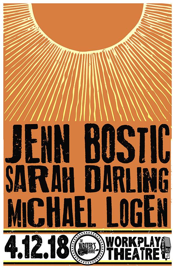 Jenn Bostic, Sarah Darling & Michael Logen