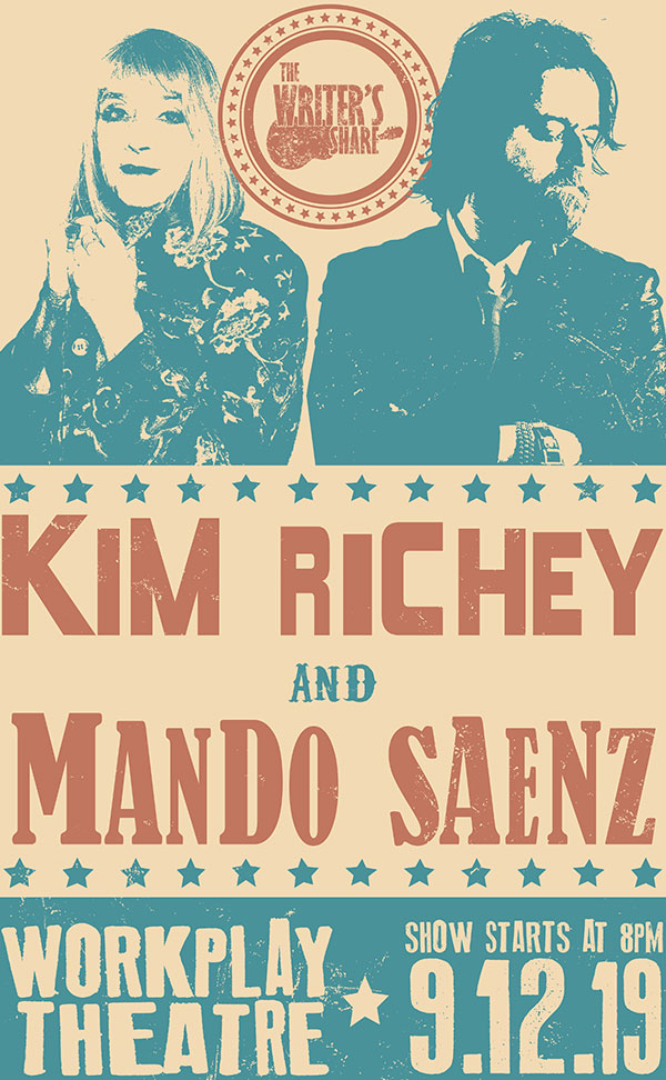 Kim Richey and Mando Saenz