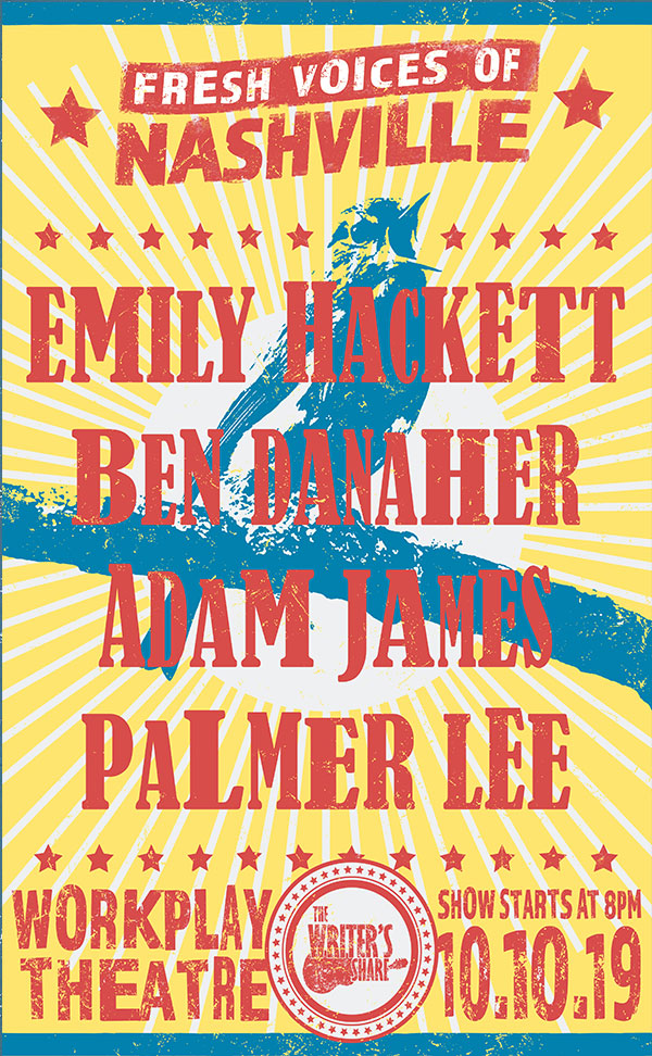 Emily Hackett, Ben Danaher, Adam James & Palmer Lee