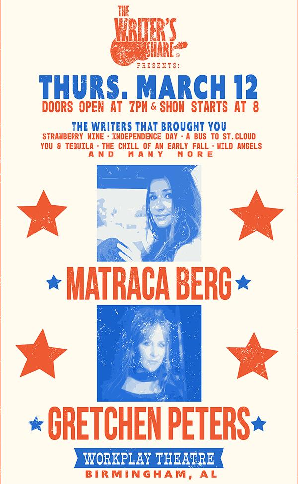 Matraca Berg and Gretchen Peters